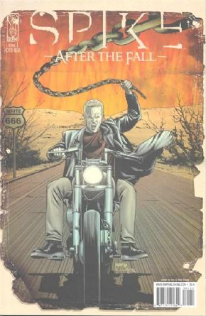 Spike After The Fall #1 Retail Incentive Variant RIA IDW Publishing comic book